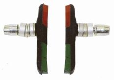 Klocki hamulca Promax V-brake 3-kolorowe