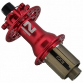 Piasta tylna Novatec D792SB X12 SH11s 32H czerwona