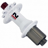 Piasta tylna Novatec D712SB B12 SH11s 32H biała