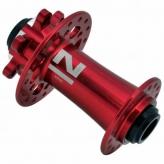 Piasta przednia Novatec D791SB 15mm 32H czerwona