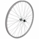 Koło rowerowe przednie 28 stal/alu srebrne