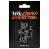 Zawór Treazado Presta 34mm Tubeless czarne
