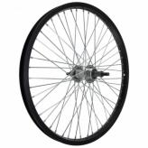 Koło rowerowe tylne 20 wolnobieg 48otw. czarne