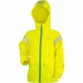 Kurtka rowerowa dziecięca Wowow Cozy Rain XS żółta