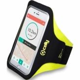 Opaska na telefon Celly Armband XXL żółta