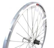 Koło rowerowe tylne 28 szosa srebrne Q-lai