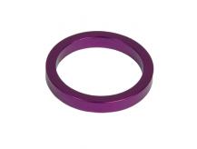 Podkładka dystansowa alu 28,6-36 fioletowa  5 mm
