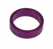 Podkładka dystansowa alu 28,6-36 fioletowa  10 mm
