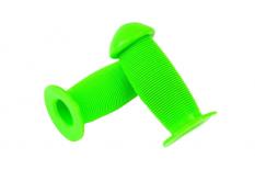 Chwyty rączki rowerowe grzybek 95mm zielony