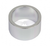 Podkładka dystansowa alu 28,6-36 srebrna  20 mm