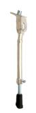 Nóżka rowerowa regulowana alu 16-28 centralna z blaszką