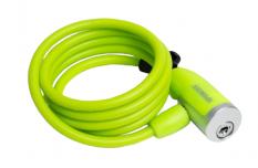 Zapięcie rowerowe spencer 8x150cm spirala zielony