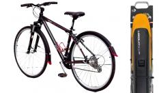 Błotniki rowerowe Simpla Ubiquit SDL 28/46 czarny/żółty