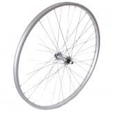 Koło rowerowe przednie 28 PSOA-W stal/alu srebrne