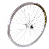 """Koło rowerowe przednie 24"""" PAOP-QR stożek"""