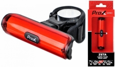 Lampka rowerowa tylna Prox Zeta cob LED USB