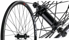 Koło rowerowe przednie 20 ATB Swift stożek czarne