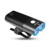 Lampka rowerowa przednia Gaciron V9 USB włącznik