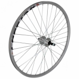 Koło rowerowe tylne 26 JOYSTAR-MT16R MTB srebrne