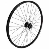 Koło rowerowe przednie 27.5 tarcza czarne