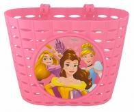 Koszyk rowerowy przód plastik Disney Księżniczki różowy