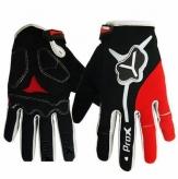 Rękawiczki długie Prox Utah l M czarno-czerwone
