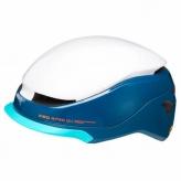 Kask rowerowy KED MITRO UE-1 biało-niebieski City M