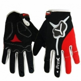 Rękawiczki długie Prox Utah l L czarno-czerwone