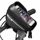 Torba rowerowa Prox Nebraska 295 czarna smartphone 6,4