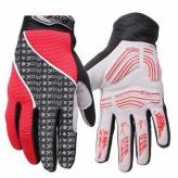 Rękawiczki długie Prox Utah ll L czerwone