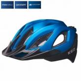 Kask rowerowy KED SPIRI II czarno- niebieski MTB L