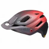 Kask rowerowy KED PECTOR ME-1 czerwono-czarny MTB L