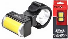 Lampka rowerowa przednia Prox Zeta S cob USB