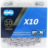 Łańcuch KMC X10 EPT 114og. Srebrny