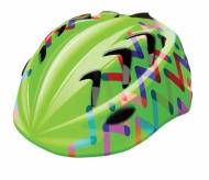 Kask rowerowy B-skin Kidy Pro zigzag S zielony