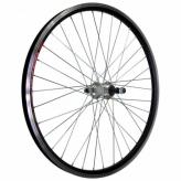 Koło rowerowe tylne 24 wolnobieg czarne