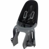 Fotelik rowerowy tylny Qibbel Air srebrny