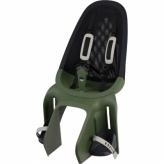 Fotelik rowerowy tylny Qibbel Air zielony