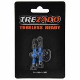 Zawór TREZADO Presta 34mm do Tubeless niebieski