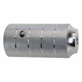"Pegi do bmx alu 50x110 mm 3/8"" srebrne"