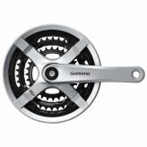 Mechanizm korbowy Shimano TY501 48/38/28 srebrny
