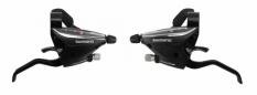 Manetki Shimano Stef65 3/8 biegów czarne