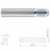 Śruba okł.ham.tarcz. HBP49 Stal;M4x0.7;22.6mm