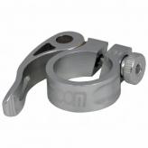 Obejma siodła Zoom AT-101+SQR-115 31.8mm srebrna