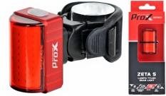 Lampka rowerowa tylna Prox Zeta S cob USB