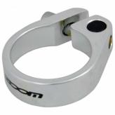 Obejma siodła Zoom AT-115 śruba 25.4mm srebrna
