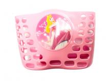 Koszyk rowerowy przedni plastik Księżniczka