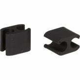 Elvedes kabelclip Duo 2,5 - 5mm doos (50)