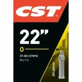 Dętka rowerowa CST 22 x 1.75 dv 40mm