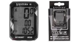 Licznik rowerowy Ventura 11f przewodowy